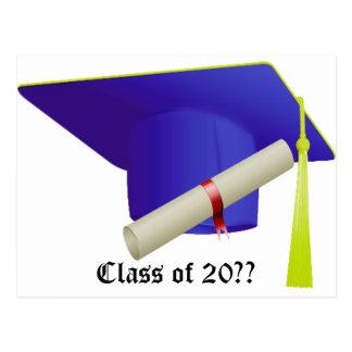 Class of - Graduation Postcard