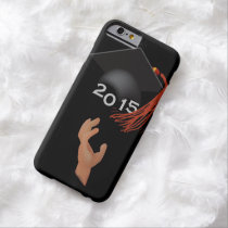 """""""Class Of"""" Male Any Year Graduated iPhone 6 Case"""