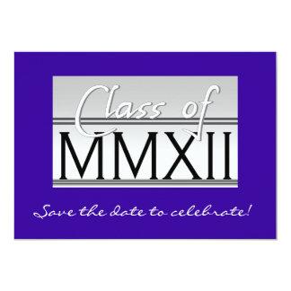 Class of MMXII  iv=nvitation Card