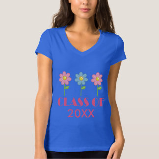 Class of Personalized Flowered School Shirt
