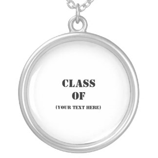 Class Of Round Pendant Necklace