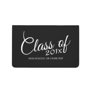 Class of with Custom Year and High School Journals