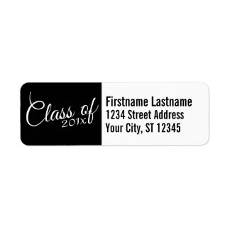 Class of with Custom Year and High School Label
