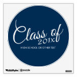 Class of with Custom Year and High School Wall Skin
