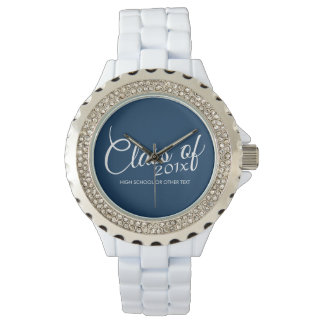 Class of with Custom Year and High School Wrist Watch