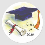 Class of  (YEAR) Envelope Seal Stickers