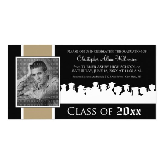 Class of [YEAR] Graduation Announcement: taupe Card