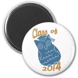 Class Owl Magnet