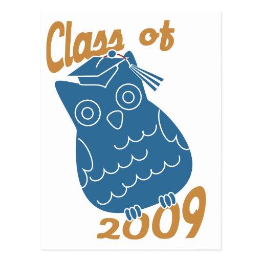 Class Owl Postcard