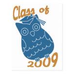 Class Owl Postcards