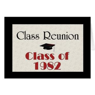 Class Reunion 1982 Card