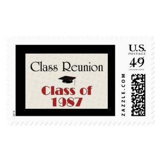 Class Reunion 1987 Stamp