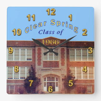 Class Reunion Clock Customized by Linda for You