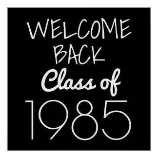 Class Reunion | Welcome Back Poster
