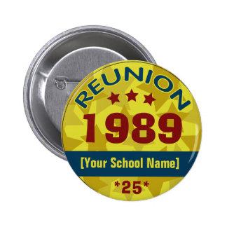 Class Reunion with Stars customizable Button