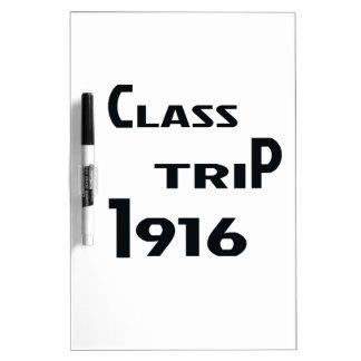 Class Trip 1916 Dry Erase Board