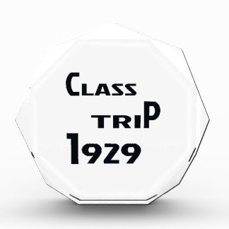 Class Trip 1929 Award