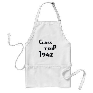 Class Trip 1942 Adult Apron