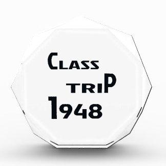 Class Trip 1948 Acrylic Award