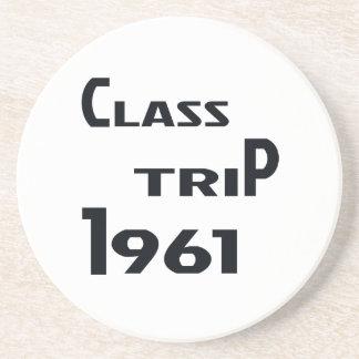 Class Trip 1961 Drink Coaster