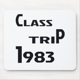 Class Trip 1983 Mouse Pad