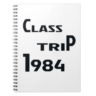 Class Trip 1984 Spiral Notebook