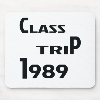 Class Trip 1989 Mouse Pad