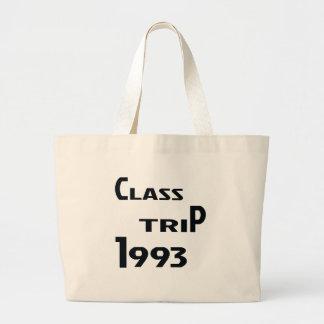 Class Trip 1993 Large Tote Bag