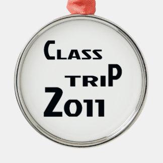 Class Trip 2011 Metal Ornament