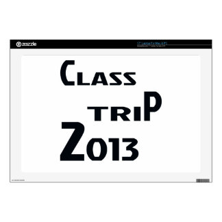 "Class Trip 2013 17"" Laptop Decal"