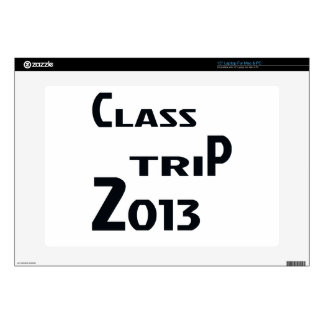 Class Trip 2013 Decal For Laptop