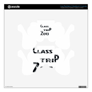 Class Trip 2013 Decal For PS3 Controller