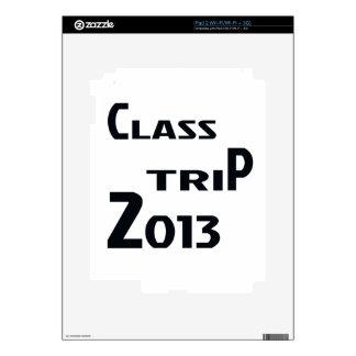 Class Trip 2013 iPad 2 Decal