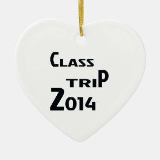 Class Trip 2014 Ceramic Ornament