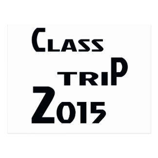 Class Trip 2015 Postcard