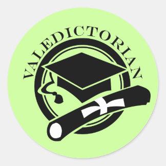 Class Valedictorian Sticker Seals