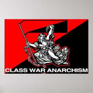 class war anarchism 1 poster