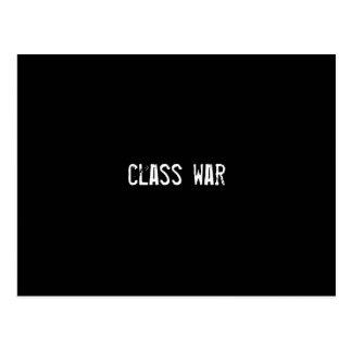 class war postcard