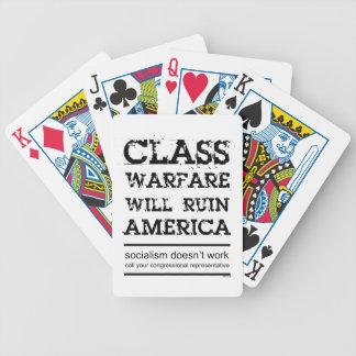 Class Warfare Bicycle Playing Cards