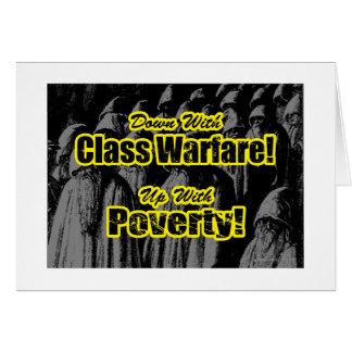Class Warfare... Card