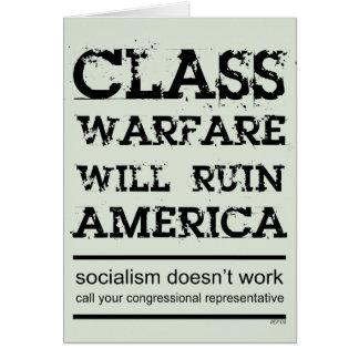 Class Warfare Card