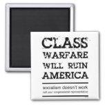 Class Warfare Fridge Magnets
