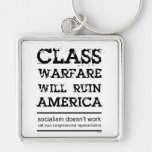 Class Warfare Keychain