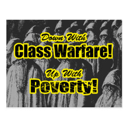 Class Warfare... Postcard