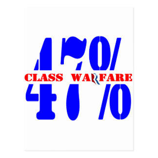 Class Warfare Postcard