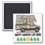 ClassC Camper RV Magnets