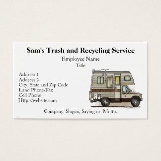 ClassC Camper RV Magnets Business Card