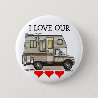 ClassC Camper RV Magnets Button