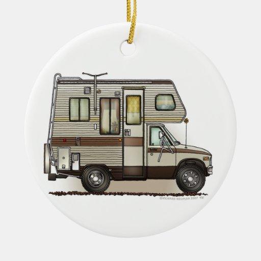 Classc Camper Rv Magnets Ceramic Ornament Zazzle