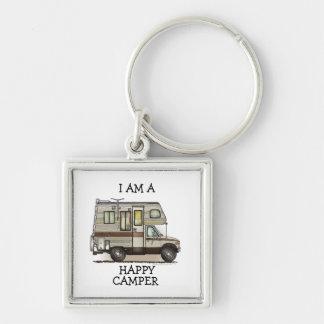 ClassC Camper RV Magnets Keychain